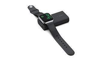 Apple Watchを3.5回充電、小型・軽量のモバイルバッテリをベルキンが発売