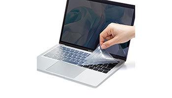 MacBook Air 13.3インチ Retinaディスプレイのキーボードを守る、「FA-SMACBA13Rシリーズ」