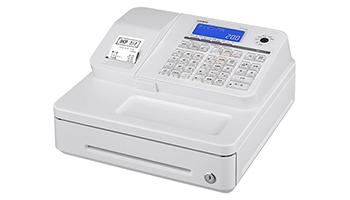 QRコード決済対応端末と連動、カシオの電子レジスター「SR-S200」