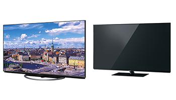 4Kテレビ、シャープとパナソニック製品が今売れている。 4Kテレビ売れ筋ランキング
