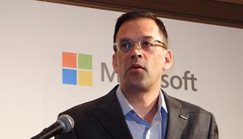 マイクロソフトの平野社長がラスト会見、在任4年で国内売上高が2倍に