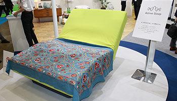 睡眠中に角度を自動で調節するベッド、パラマウントベッドが入眠から目覚めまでサポート