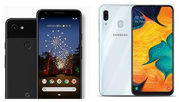 iPhone 一色のスマホランキングにPixel 3aとGalaxy A30がランクイン! スマートフォン売れ筋ランキングTOP10