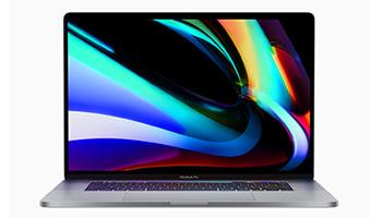 プロ向け16インチのMacBook Pro、新しいMagic Keyboardで