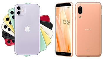 AQUOS sense3、iPhone独占のスマホランキングに唯一ランクイン! スマートフォン売れ筋ランキングTOP10