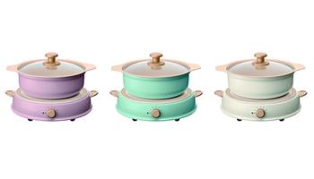 アイリスオーヤマ、鍋とデザインを搭載した「パーティIHコンロ ricopa」