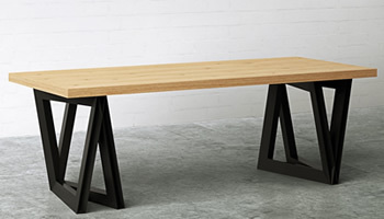 テーブルそのものがスピーカー、スマホの音楽を鳴らせる「SOUND TABLE」