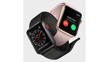単体で通話できるセルラーモデルが加わったスマートウォッチ「Apple Watch Series 3」