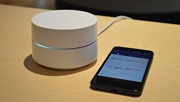【会見速報】「Google Wifi」が日本上陸、4月26日発売