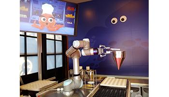 ロボットがたこ焼き職人に、長崎ハウステンボスに世界初「OctoChef」オープン