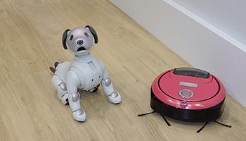 IoTの総合展「CEATEC 2018」が開幕、aiboとロボット掃除機のコラボも