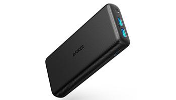 【製品速報】容量2万mAhで2台同時充電、Ankerの薄型モバイルバッテリー